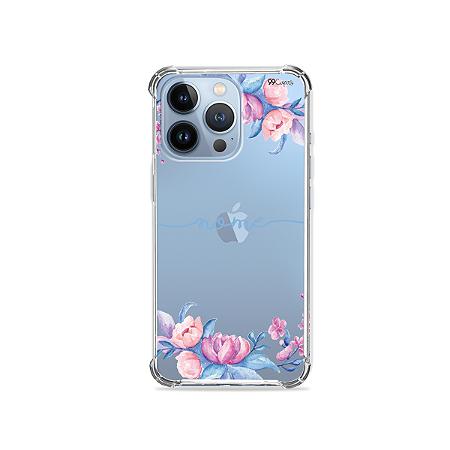 Capa para iPhone 13 Pro Max - Bromélias