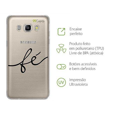 Capa para Galaxy J5 Metal - Fé