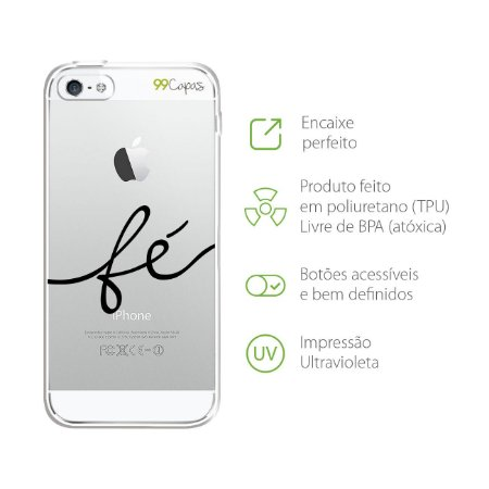 Capa Fé para Iphone 5