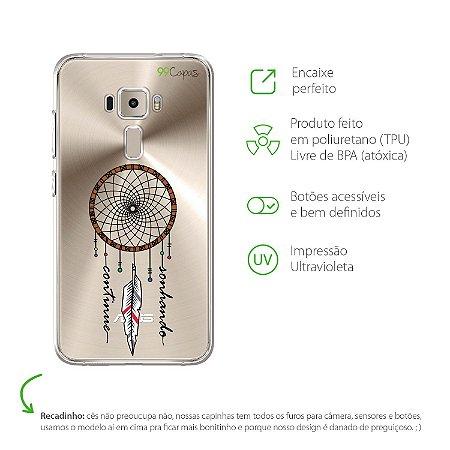 Capa Filtro dos Sonhos para Zenfone 3 - ZE520KL - 5,2 Polegadas