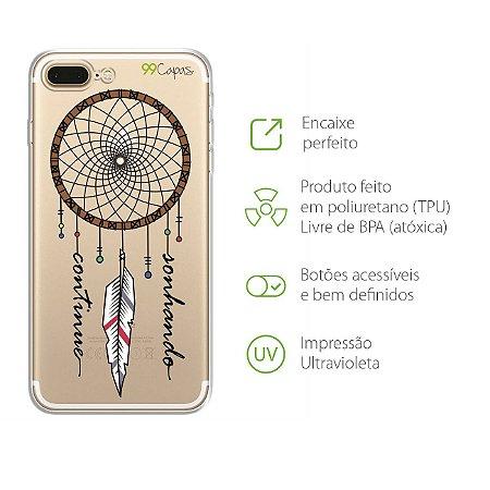Capa Filtro dos Sonhos para Iphone 7 Plus