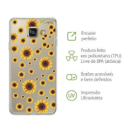 Capa Girassóis Samsung A9