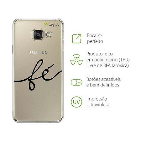 Capa para Galaxy A9/A9 Pro - Fé