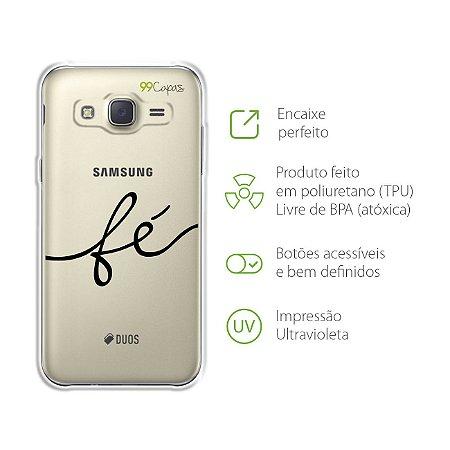 Capa para Galaxy J3 - Fé