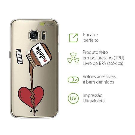 Capa Nutella para Galaxy S7