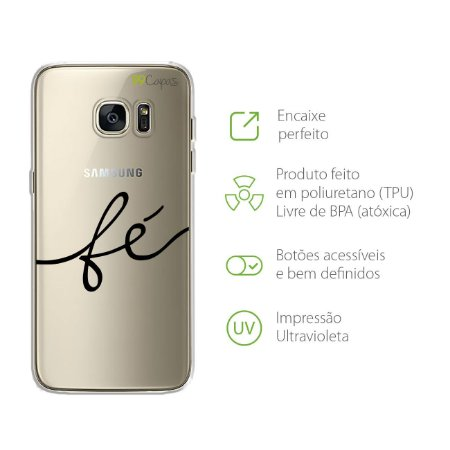 Capa para Galaxy S7 - Fé