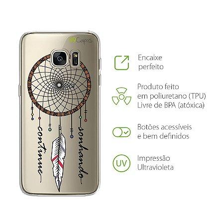 Capa Filtro dos Sonhos para Galaxy S7 Edge