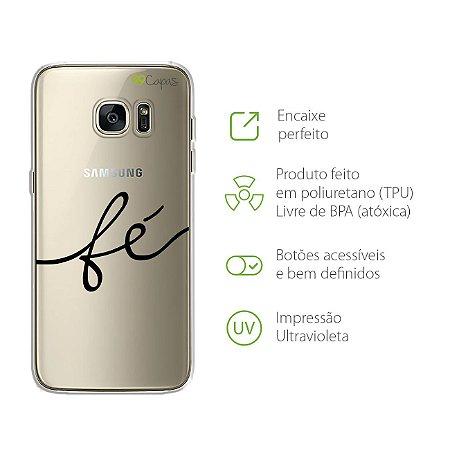 Capa para Galaxy S7 Edge - Fé