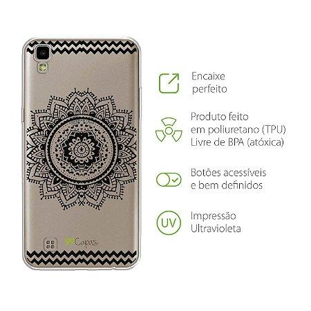 Capa para LG X Style - Mandala Preta