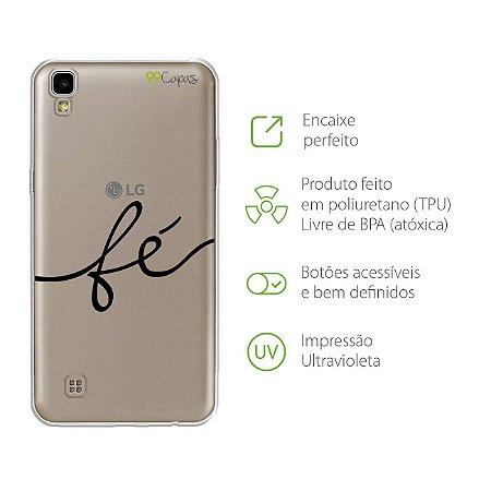 Capa para LG X Style - Fé