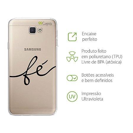 Capa para Galaxy J7 Prime - Fé