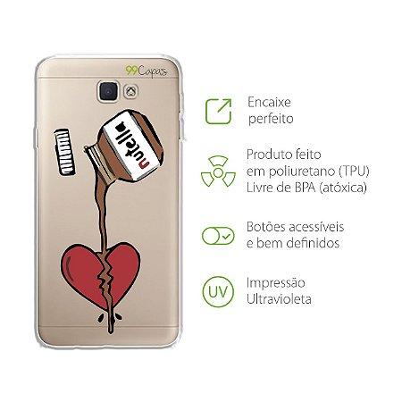 Capa para Samsung Galaxy J5 Prime - Nutella