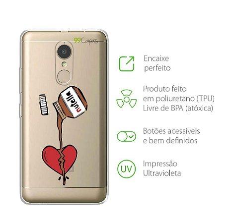 Capa para Lenovo Vibe K6 Plus - Nutella