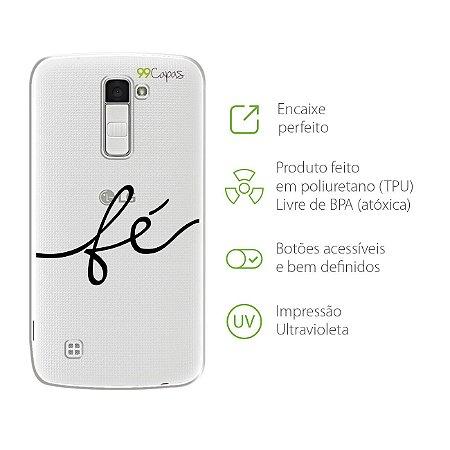 Capa para LG K8 - Fé