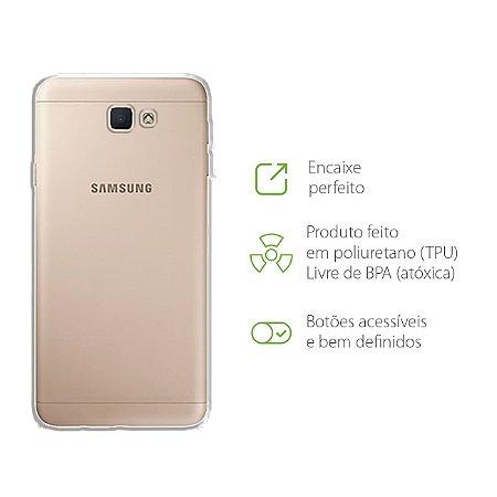 Capa Transparente para Samsung Galaxy J7 Prime