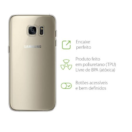 Capa Transparente para Samsung Galaxy S7 Edge