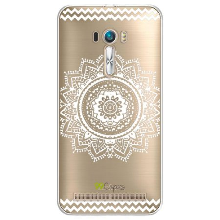 Capa Zenfone Laser - Mandala Branca