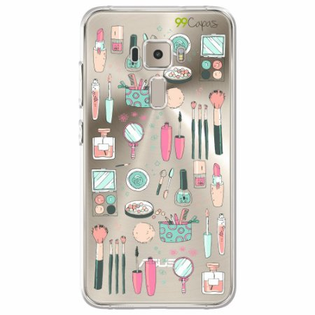 Capa para Asus Zenfone 3 - 5.2 Polegadas - Make Up