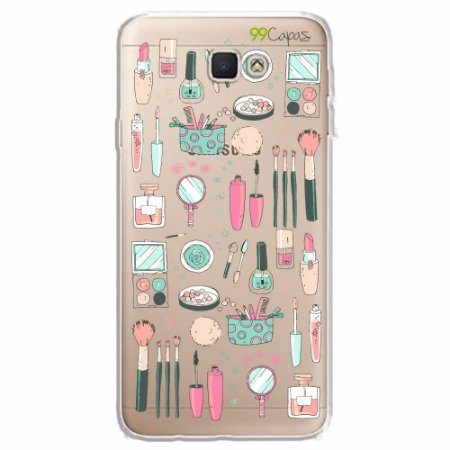 Capa para Samsung J7 PRIME - Make Up