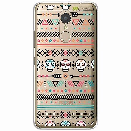 Capa para Lenovo Vibe K6 - Tribal