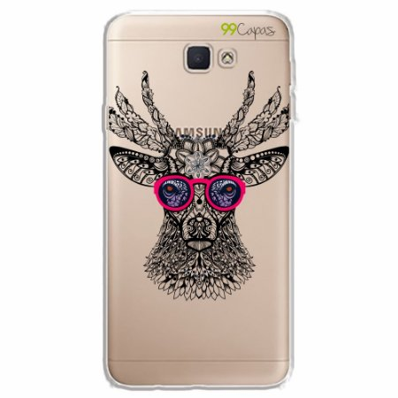 Capa para Galaxy J7 Prime - Alce Hipster