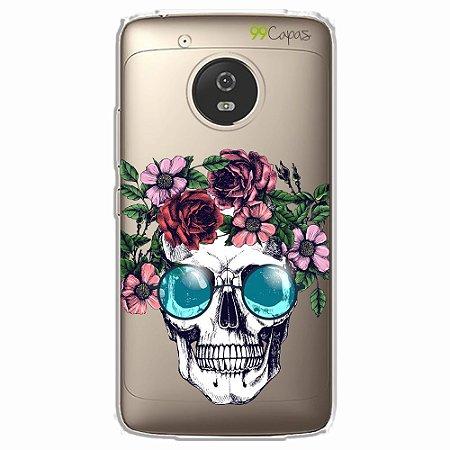 Capa para Moto G5 - Caveira