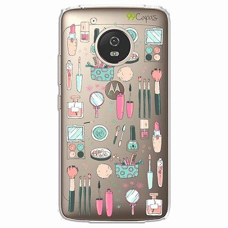 Capa para Moto G5 - Make Up