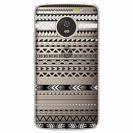 Capa para Moto G5 - Maori Branca