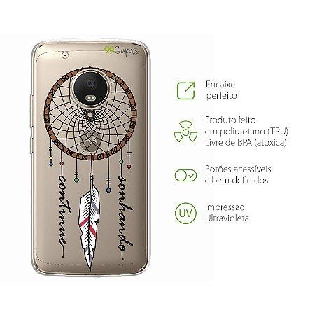 Capa Moto G5 Plus - Filtro dos Sonhos