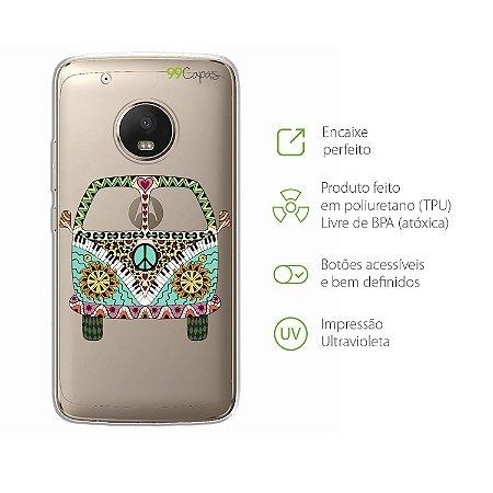 Capa para Moto G5 Plus - Kombi