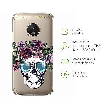 Capa para Moto G5 Plus - Caveira
