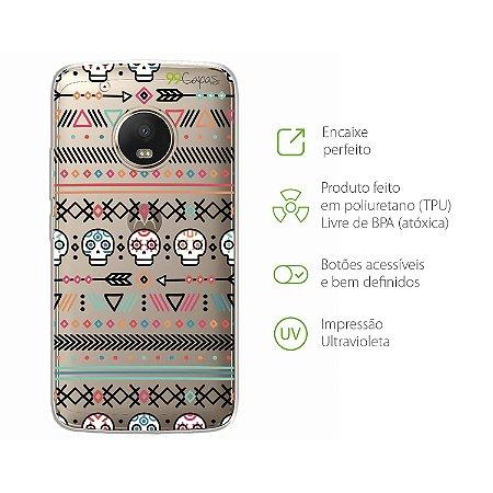 Capa Moto G5 Plus - Tribal