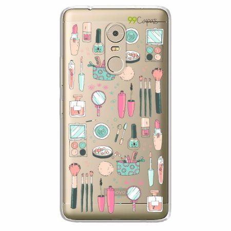 Capa para Lenovo Vibe K6 Plus - Make Up