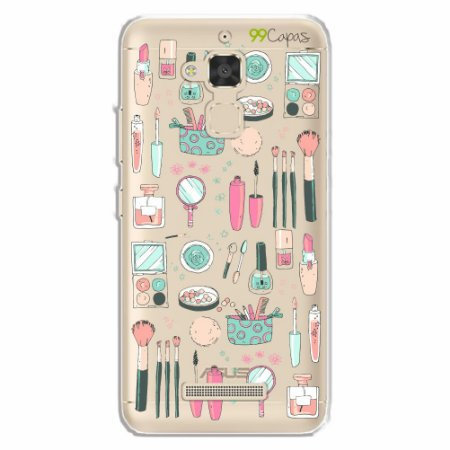 Capa para Asus Zenfone 3 Max- 5.2 Polegadas - Make Up