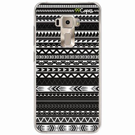 Capa para Asus Zenfone 3 Max- 5.2 Polegadas - Maori Preta