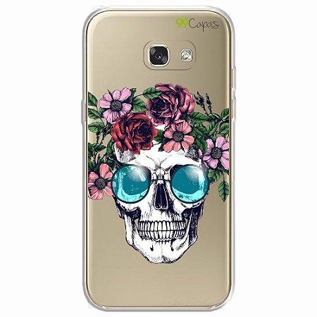 Capa para Samsung Galaxy A5 2017 - Caveira