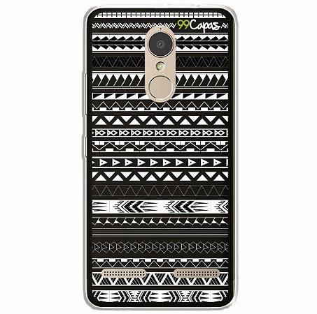 Capa para Lenovo K6 - Maori Preta