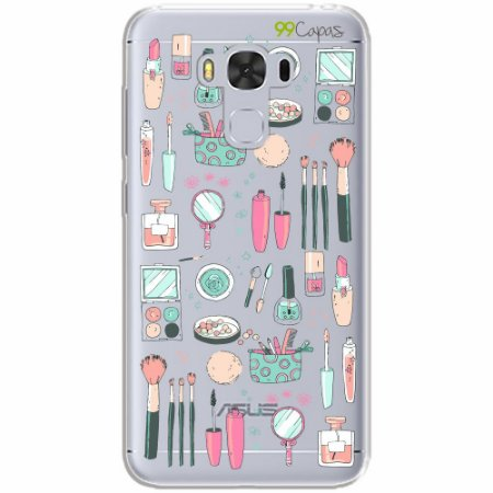 Capa para Asus Zenfone 3 Max - 5.5 Polegadas - Make Up