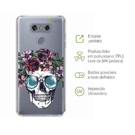 Capa para LG G6 - Caveira
