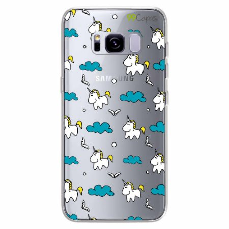 Capa para Galaxy S8 - Unicórnio