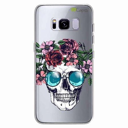Capa para Galaxy S8 Plus - Caveira