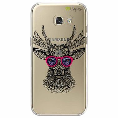 Capa para Samsung Galaxy A7 2017 - Alce Hipster
