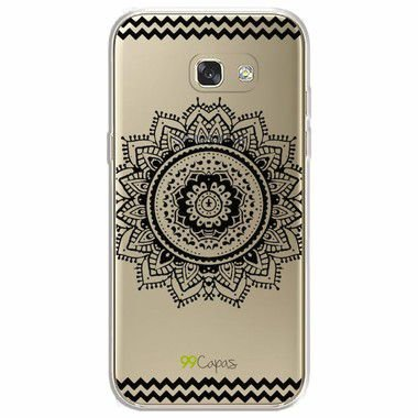 Capa para Samsung Galaxy A7 2017 - Mandala Preta