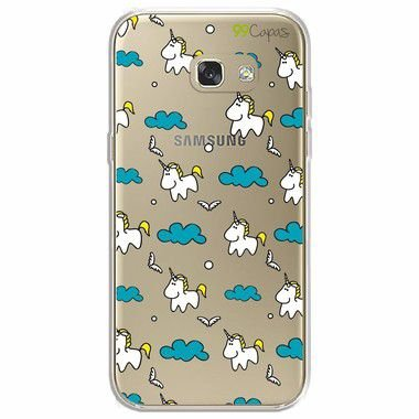 Capa para Galaxy A7 2017 - Unicórnio