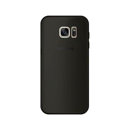 Capa Fumê para Samsung Galaxy S7 Edge {Semi-transparente}