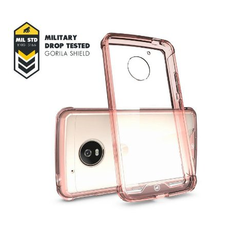 Capa Ultra Slim Air Rosa para MOTO G5 - GORILA SHIELD