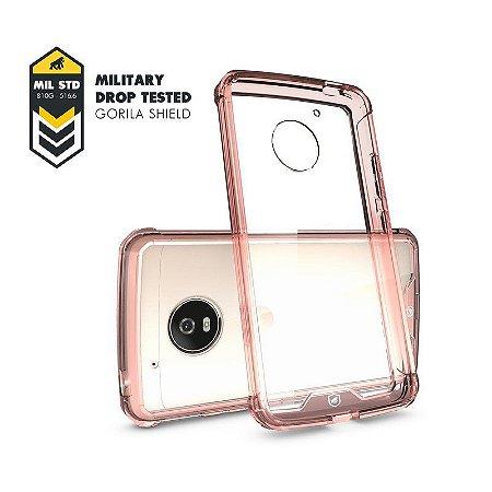Capa Ultra Slim Air Rosa para MOTO G5 Plus - GORILA SHIELD