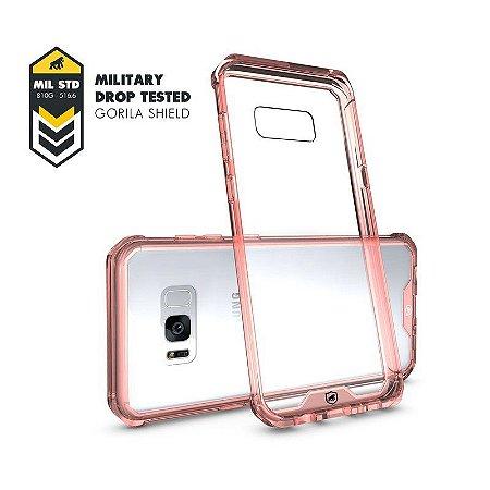 Capa Ultra Slim Air Rosa para Samsung Galaxy S8 - GORILA SHIELD