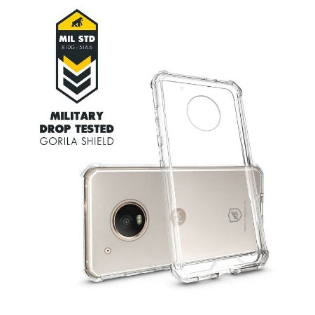 Capa Ultra Clear para Moto G5 - GORILA SHIELD