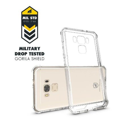 Capa Ultra Clear para Asus Zenfone 3 Max 5.2 - GORILA SHIELD